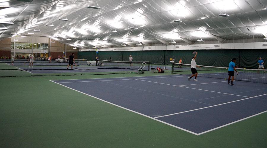 Indoor tennis at SLTHC