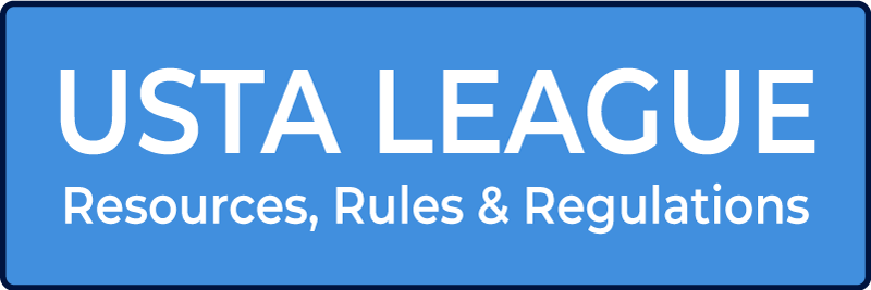 USTA League resources and regulations